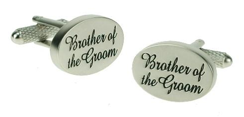 Manchetknapper til Brylluppet - Brother of the Groom - Manchetknapper - Onyx Art of London - the-prince-webshop