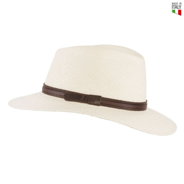 MJM Dude Panama Strå Hat - Natural - Hat - MJM Hats - the-prince-webshop