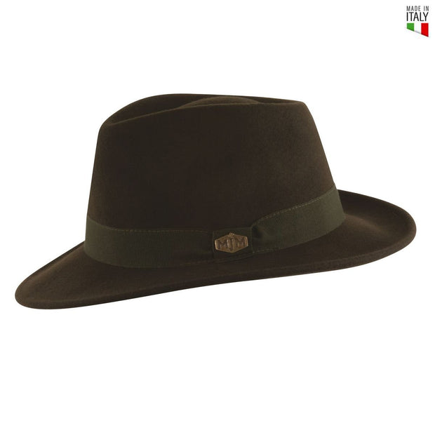 MJM Paul Loden Uld Filt Hat - Waterproof & Crushable - Hat - MJM Hats - the-prince-webshop