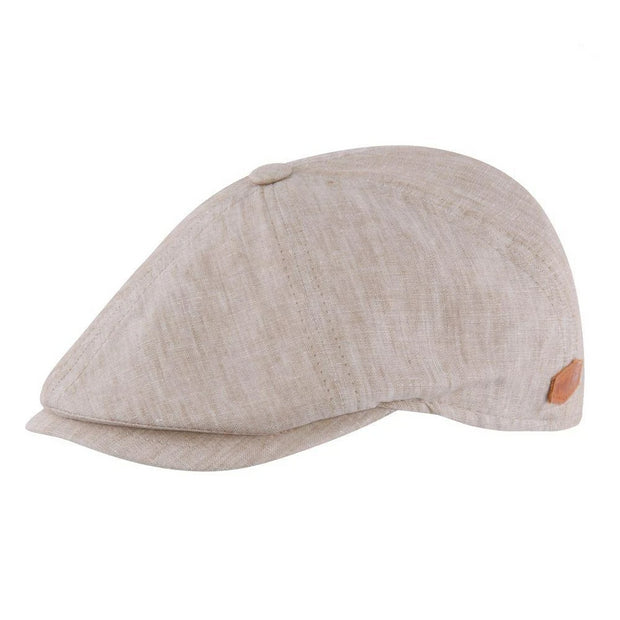 MJM Rebel Sixpence - Organic Light Beige-MJM Hats-Hat-56 cm (S)-The Prince Webshop