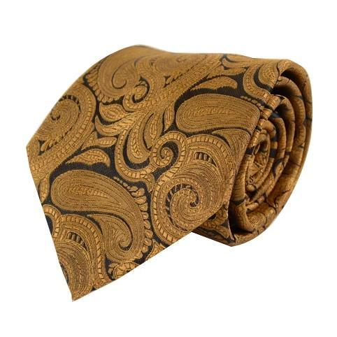 Paisley Slips i Guld - Slips - Laurent Bennet - the-prince-webshop