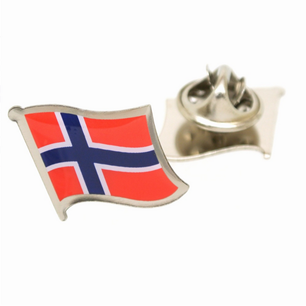 Reversnål Flag Norges - Reversnål - Onyx Art of London - the-prince-webshop