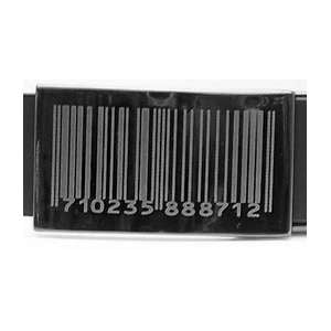 Sort Læder Bælte Barcode - Bælte - Scanbelt - the-prince-webshop