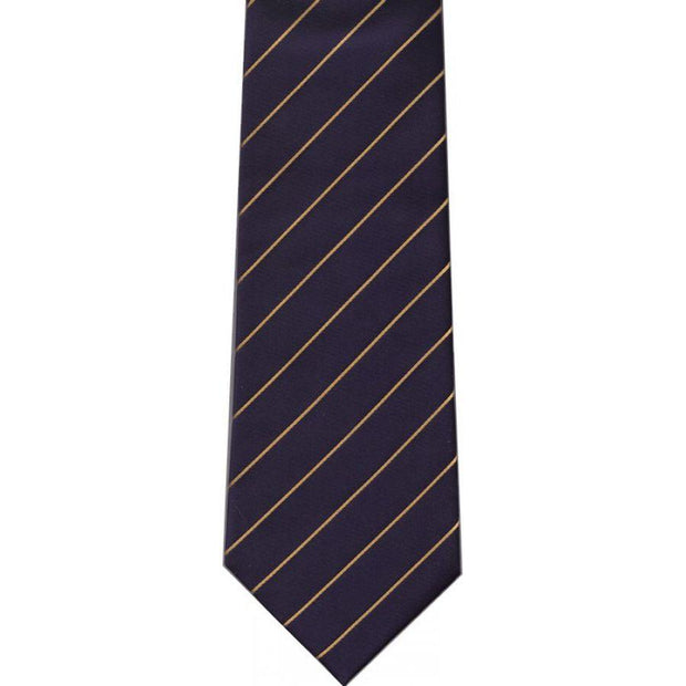 Slips Silke Stripes Single Gold on Navy - Slips - The Prince's Own - the-prince-webshop