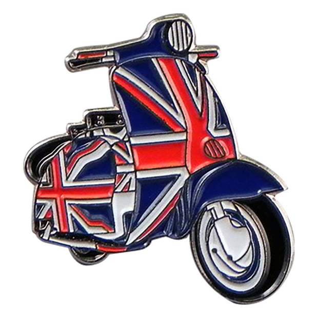 Union Jack Scooter Pin - Reversnål - The Prince's Own - the-prince-webshop