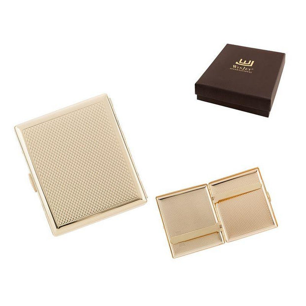 Winjet Cigaret Etui - 18 King Size Cigaretter - Guld - Cigaret Etui - Winjet - the-prince-webshop