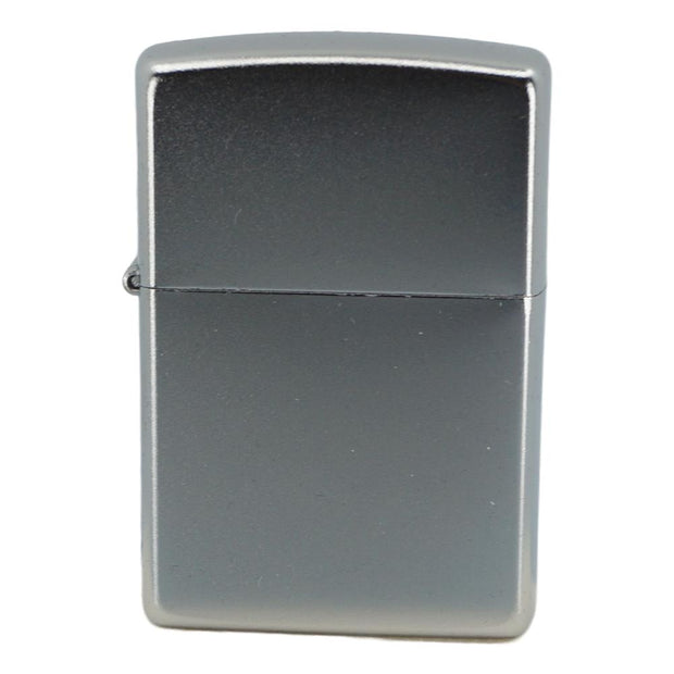 Zippo Lighter Chrome Satin