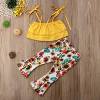 Sunflower Bell Bottom Set