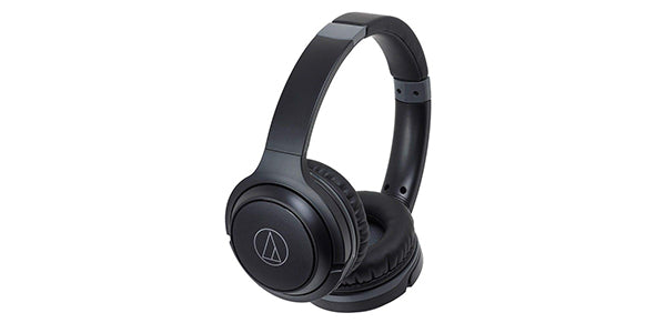 #10 - Audio-Technica ATH-S200BTBK Bluetooth Wireless On-Ear Headphones