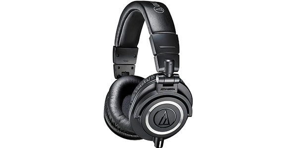 Audio-Technica ATH-M50x Professional Studio Monitor Headphones dj