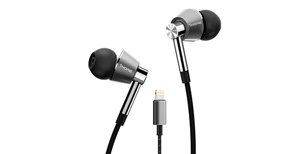 1MORE triple driver headphones with Lightning Connector