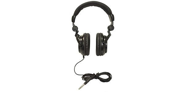 tascam TH-02 Black Closed Back Studio Headphones