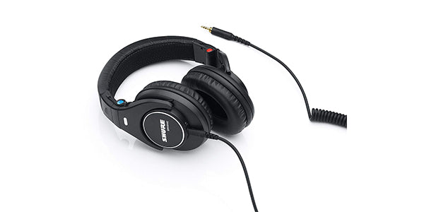 Shure SRH840 Professional Monitoring Headphones for Studio Recording and Critical Listening