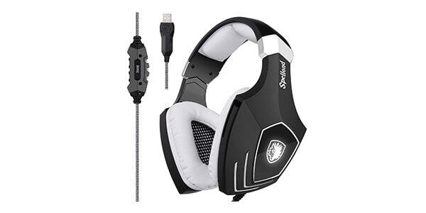 Sades A60 USB Gaming Headset