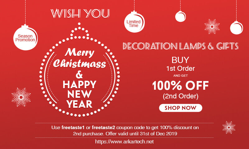 Christmas Promotion for Decoration Lamps & Gifts