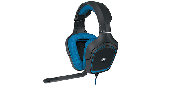 Logitech G430 7.1 DTS Headphone X and Dolby Surround Sound Gaming Headset for PC, Playstation 4