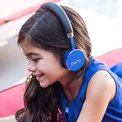 Puro Sound Labs BT2200 Kids Volume-Limiting Over-Ear Wireless Headphones