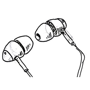 how to keep earbuds in