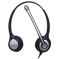 Wantek Corded Telephone Headset Dual