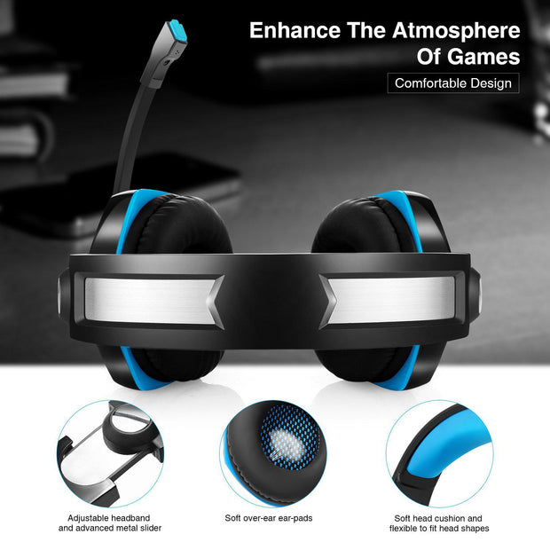 Newest GM-20 Game Headphone with LED Light for PS4 Xbox-Arkartech