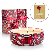 Smokeless Rose Scented Candles Christmas Gift Set Aromatherapy