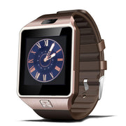 DZ09 Men Digital Smart Watch - Bluetooth SIM TF Card Camera
