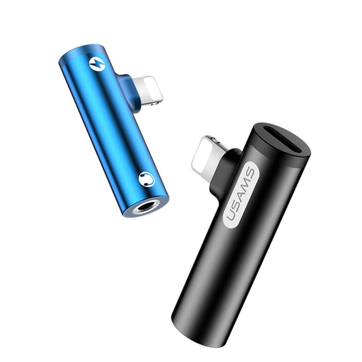 AU07 3.5MM Lightning Mini Portable Adapter for iPhone