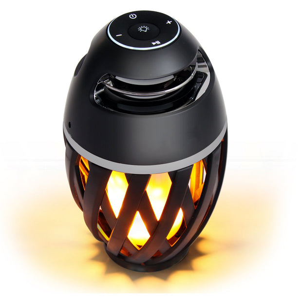 Led Flame Table Lamp, Torch Atmosphere Bluetooth Speakers