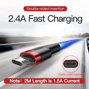 High Speed Sync and Charging Micro USB Cable