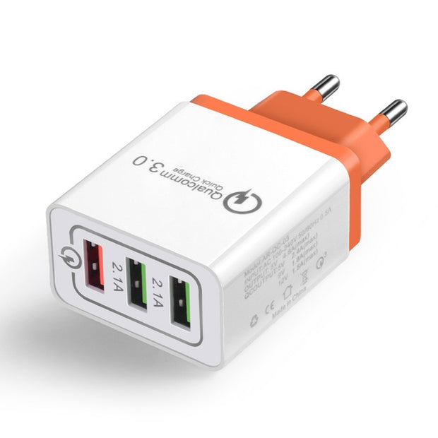 USB Quick AC Power Adapter with EU Plug