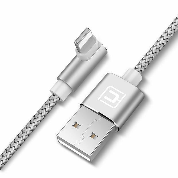 Nylon Braided USB Type A-to-Lightning Cable-and-Sync Cable