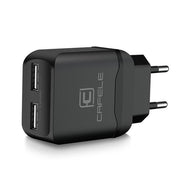 Portable Dual USB Charger with EU/US Plug