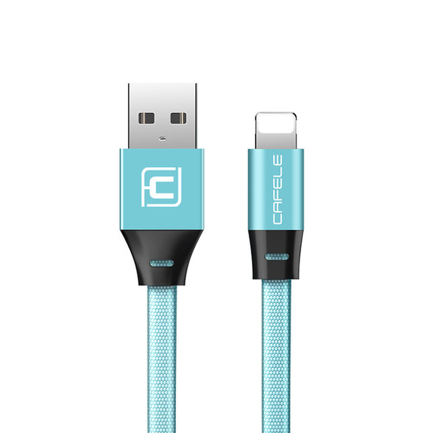 Braided Nylon Fast Charger USB Lightning Cable USB Cable for iPhone