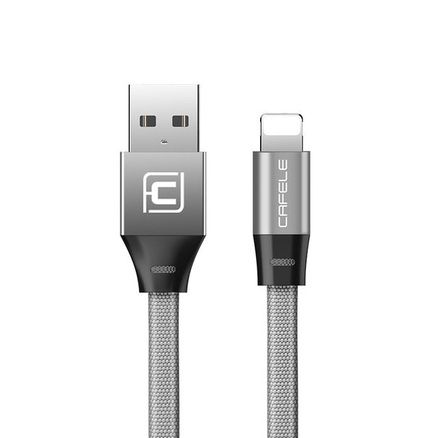 Nylon Fast Charger USB Lightning Cable USB Cable for iPhone