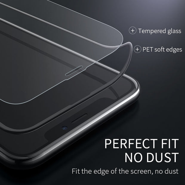 HOCO Best for Apple iPhone X XS Max XR Full HD Tempered Glass Film Screen Protector Protective 3D Full Cover Screen Protection