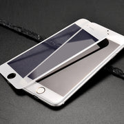 HOCO Full Cover Anti Scratch Glass Film For Apple iphone 6 6S White Black Protective Film For iphone 6 6s plus 3D soft edge