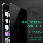 HOCO for Apple iPhone 7 8 Plus Anti Spy Full Tempered Glass 3D Film Screen Protector Protective Cover Touch Screen Protection