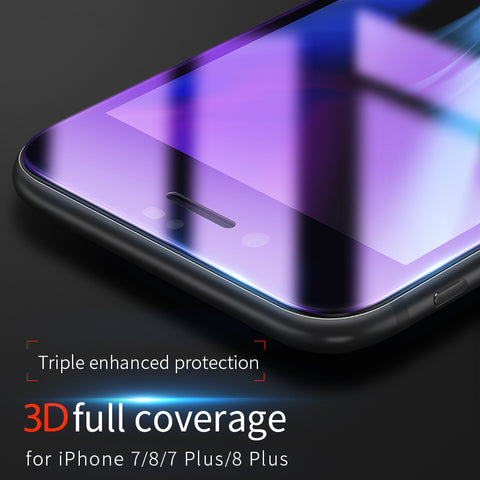 HOCO Anti Blue Ray Tempered Protective Glass Film for iPhone 7 8 PLUS Full Touch Screen Protector Cover for Screen iPhone 7 8