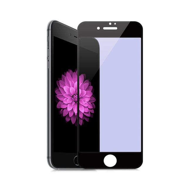 Full Cover Anti Scratch Glass Film For Apple iphone 6 6S White Black Protective Film For iphone 6 6s plus 3D soft edge