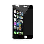 For Apple iPhone 7 8 Plus Anti Spy Full Tempered Glass 3D Film Screen Protector Protective Cover Touch Screen Protection
