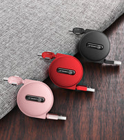 Mini 3 in 1 Portable USB Charging Cable for iPhone/Android