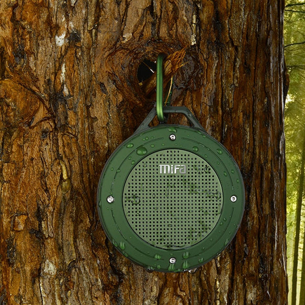 Outdoor Wireless Portable Stereo IPX6 Waterproof Speaker
