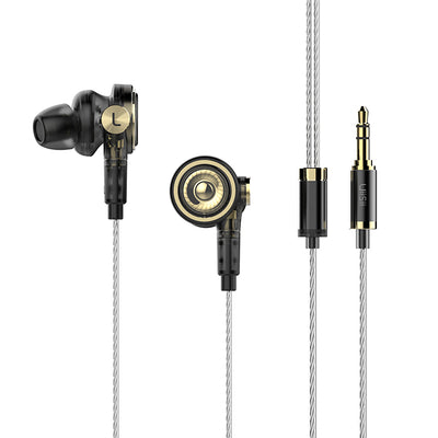 BA-T9 Hi-Res 10mm Tripple Drivers In-Ear Headphone