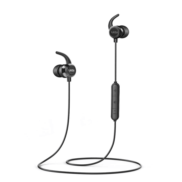 B6 Wireless Fully Waterproof Bluetooth Sports Headphones
