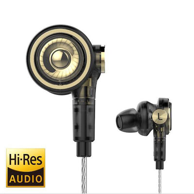 BA-T9 Hi-Res 10mm Tripple Drivers In-Ear Headphone-Arkartech