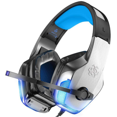 V4 Stereo Sound Over Ear Gaming Headphones with Microphone-Arkartech