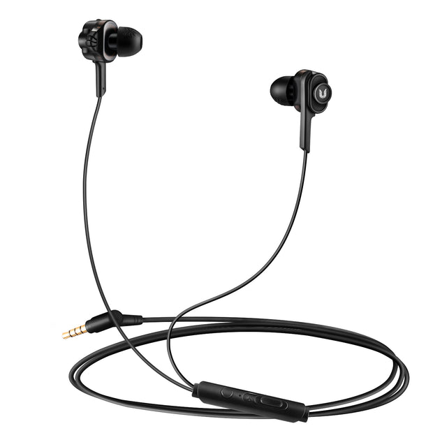 Uiisii T6J Dual Dynamic Driver In-Ear Hi-Res Audio Headphones-Arkartech