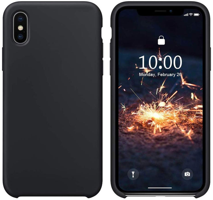 Thicken Liquid Silicone Shockproof Protective Case for iPhone X XS 5.8