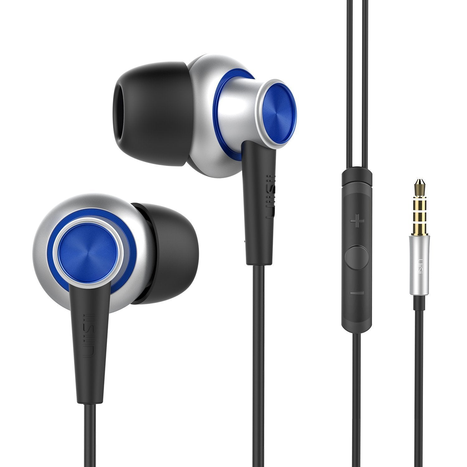 Hi-810 Stereo In-Ear Headphones with Mic & Volume Control