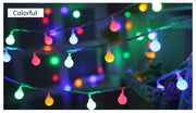 10M 100 LED Balls Globes Fairy Lights Romantic Strip Lamp Light